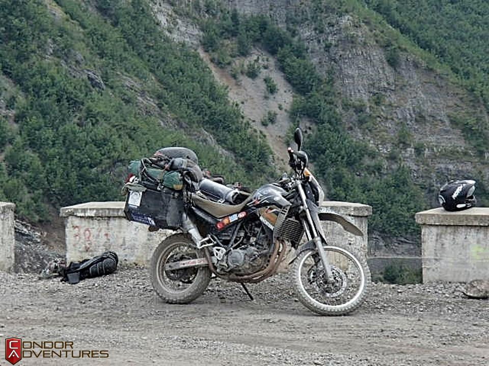 explorealbania-motoros túra-condorriders-sasok földje-albánia-SH20-albán alpok-albanian alps
