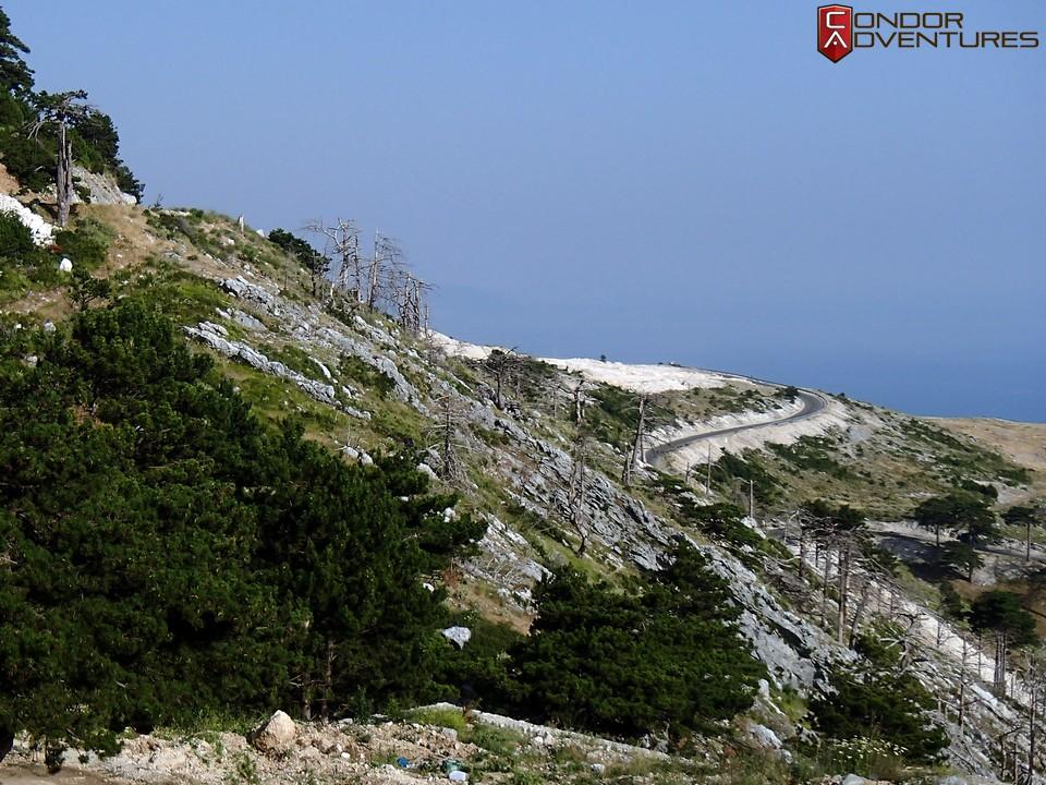 explorealbania-llogara-pass-mount-cika-albánia-condorriders